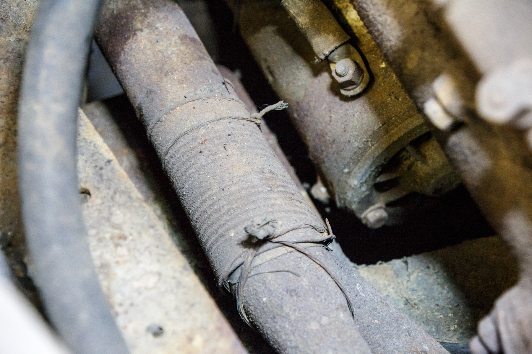 Tin can exhaust repair